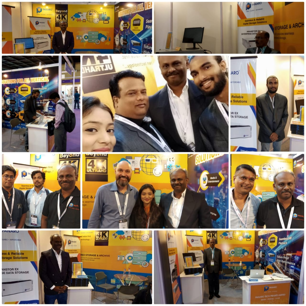 Panaro Tech @Broadcast India 2018
